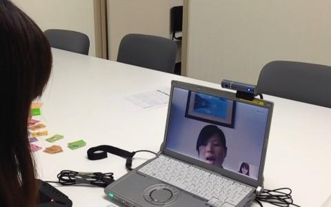 組合主催日本語能力試験の実施とスカイプ面談